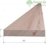 Вкладыш в поручень из дуба сорт Экстра 8*50*1000-3000 мм